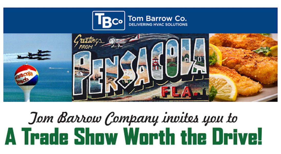 Pensacola Trade Show Image April 2019