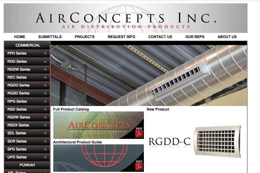 Air Concepts Inc
